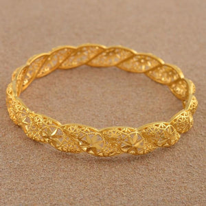 4Pieces/lot Ethiopian Gold Color Middle East Bracelet - Custom Made | Free Shipping