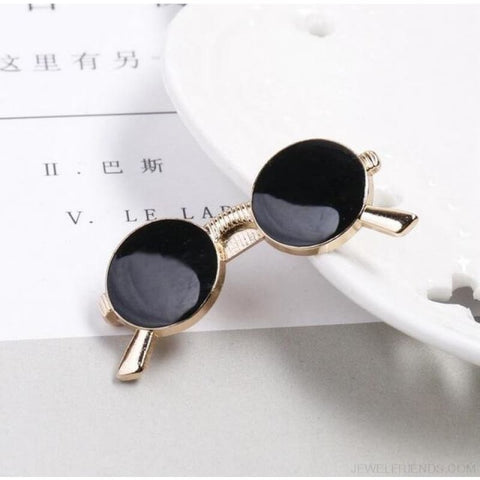 6 Styles Tie Clip Bullet Feather Glasses Anchor Mustache - Sunglasses - Custom Made | Free Shipping