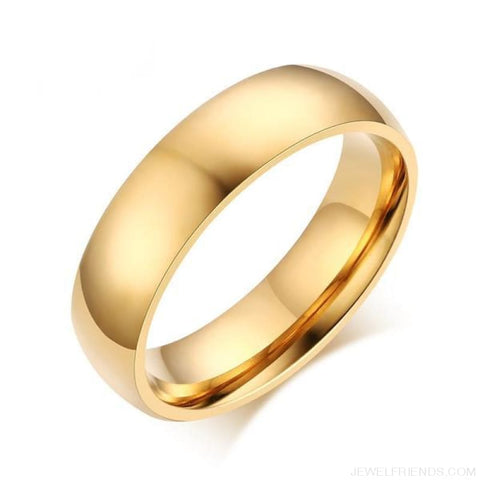 Image of 6Mm Classic Wedding Ring - Custom Made | Free Shipping
