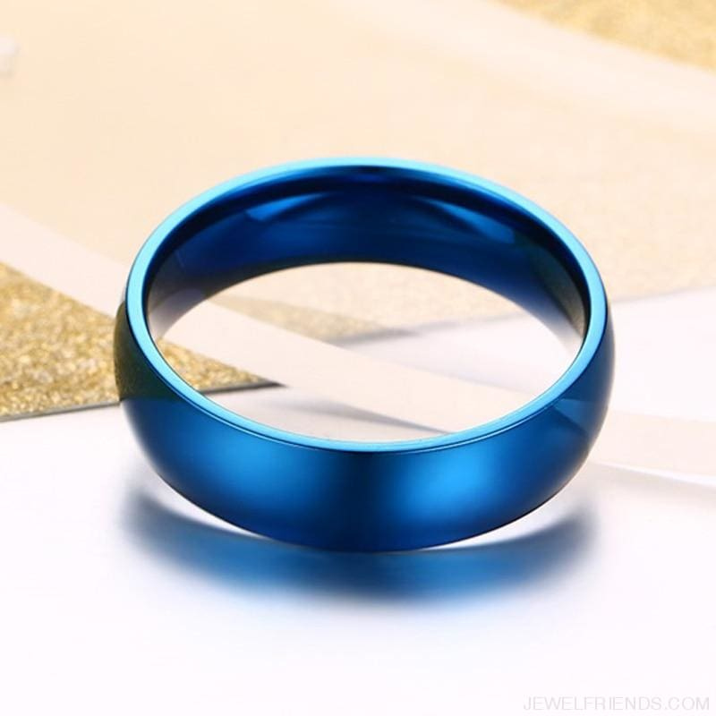 6Mm Classic Wedding Ring - Custom Made | Free Shipping