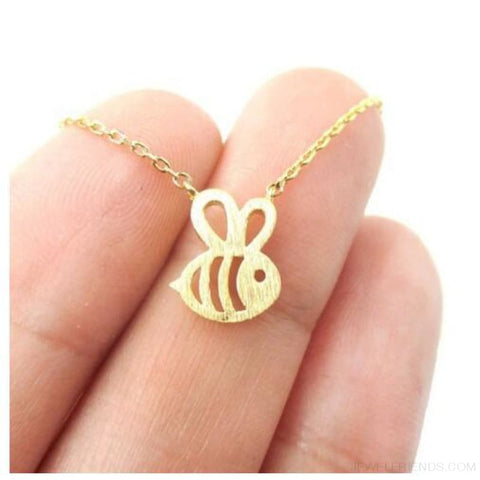 Adorable Bumble Bee Shaped Jewelry - Bee 2 - Custom Made | Free Shipping
