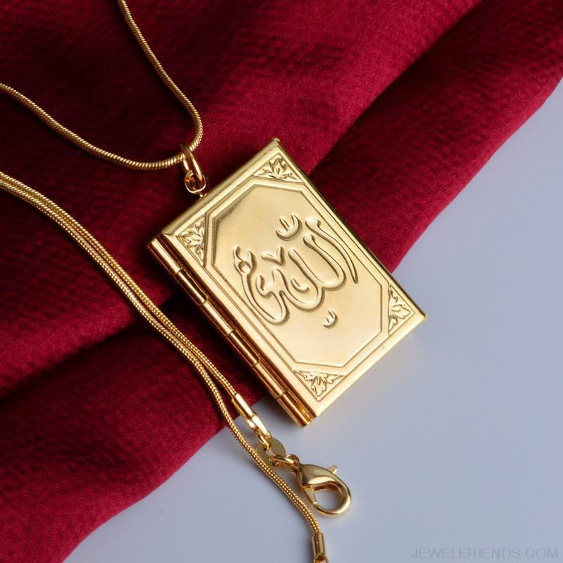 Allah Photo Necklace Pendant - Custom Made | Free Shipping