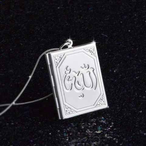Image of Allah Photo Necklace Pendant - Custom Made | Free Shipping