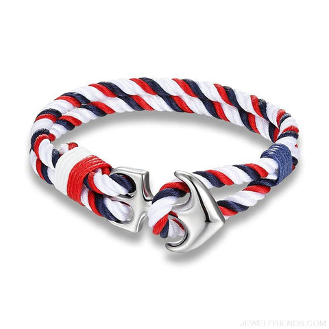 Image of Anchor Survival Rope Bracelets - Custom Made | Free Shipping