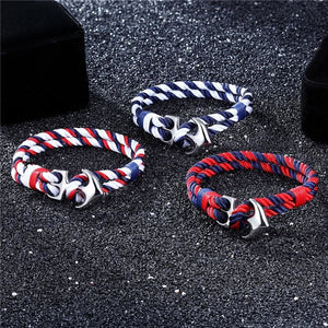 Anchor Survival Rope Bracelets