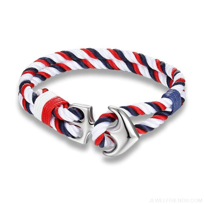 Anchor Survival Rope Bracelets - Scm418 - Custom Made | Free Shipping