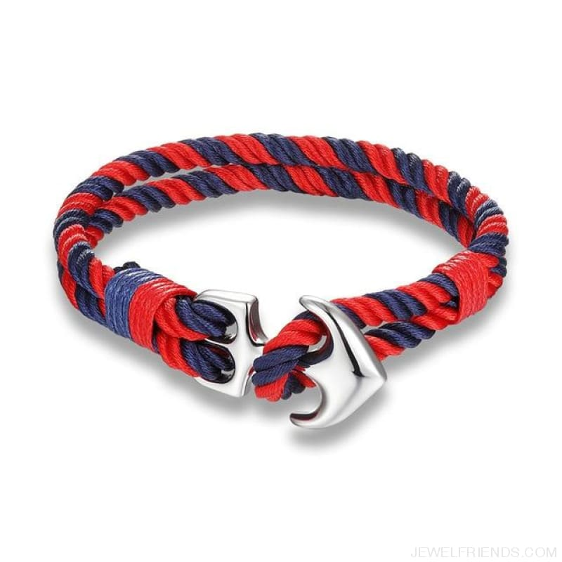 Anchor Survival Rope Bracelets - Scm422 - Custom Made | Free Shipping