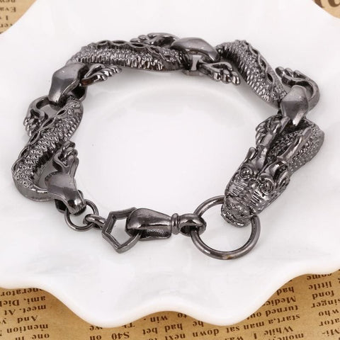 Image of Black Fire Dragon Bracelets - Custom Made | Free Shipping