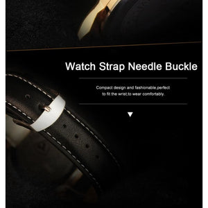 Business Leather Strap Quartz Watches