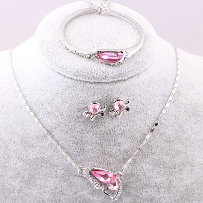 Butterfly Crystal Jewelry Sets - Custom Made | Free Shipping