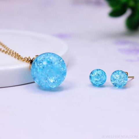 Candy Color Ball Jewerly Set - 1 - Custom Made | Free Shipping