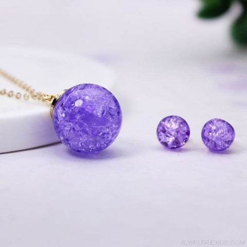 Candy Color Ball Jewerly Set - 5 - Custom Made | Free Shipping