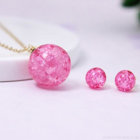 Candy Color Ball Jewerly Set - 6 - Custom Made | Free Shipping