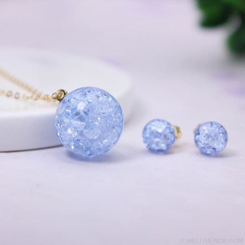 Candy Color Ball Jewerly Set - 7 - Custom Made | Free Shipping