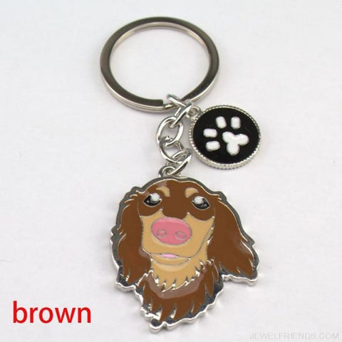Cartoonish Dog Breed Keychains - 01 - Custom Made | Free Shipping