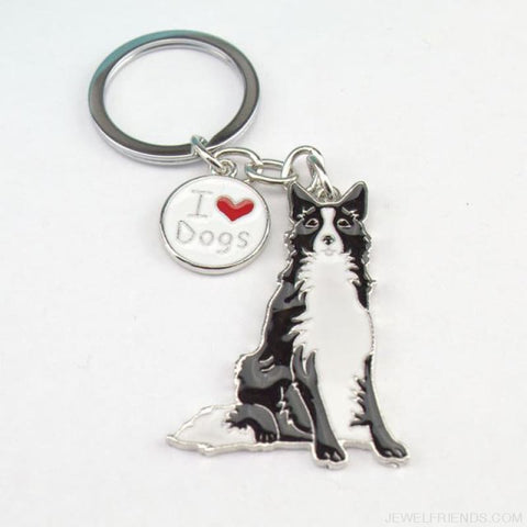 Cartoonish Dog Breed Keychains - 03 - Custom Made | Free Shipping