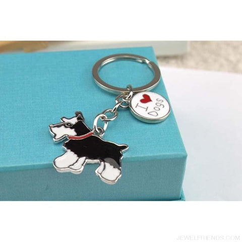 Cartoonish Dog Breed Keychains - 05 - Custom Made | Free Shipping
