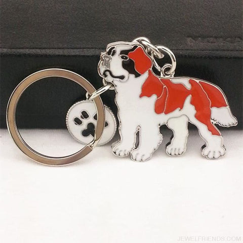 Cartoonish Dog Breed Keychains - 09 - Custom Made | Free Shipping
