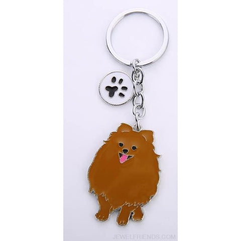 Cartoonish Dog Breed Keychains - 12 - Custom Made | Free Shipping