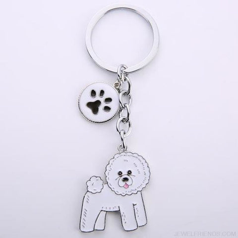 Cartoonish Dog Breed Keychains - 13 - Custom Made | Free Shipping