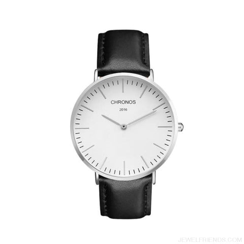 Image of Casual Stripe Strap Watches - Ch 0120 - Custom Made | Free Shipping