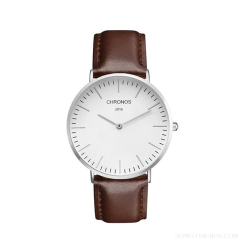 Image of Casual Stripe Strap Watches - Ch 0122 - Custom Made | Free Shipping