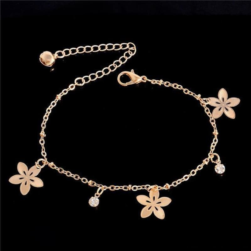 Chain Butterfly Flower Heart Owl Anklets - 6 - Custom Made | Free Shipping