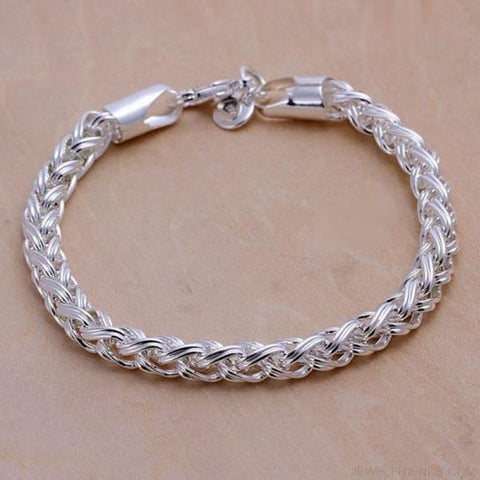 Image of Creative Twist Circle Chain Bracelets - Custom Made | Free Shipping