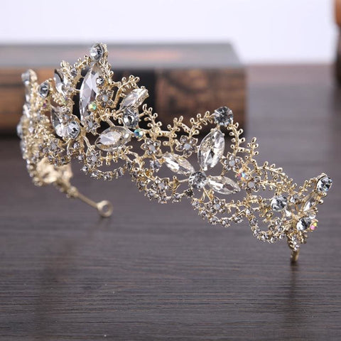 Image of Crown Queen Bridal Tiaras - Custom Made | Free Shipping