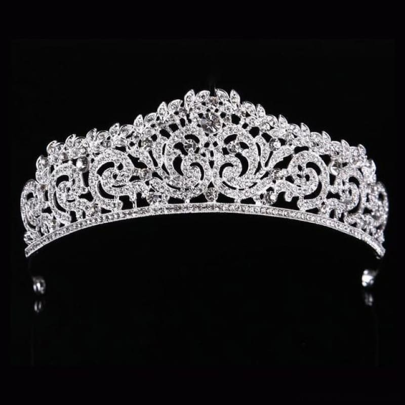 Crown Queen Bridal Tiaras - Styleb Silver - Custom Made | Free Shipping