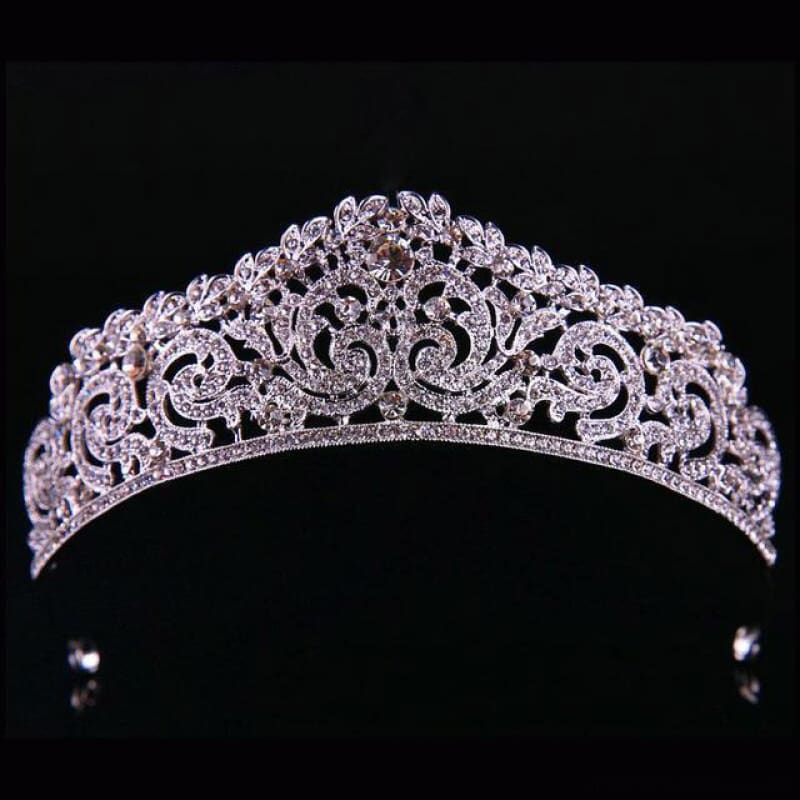 Crown Queen Bridal Tiaras - Styleb White - Custom Made | Free Shipping