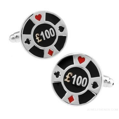 Image of Cuff Links Gamble Casino - 13 - Custom Made | Free Shipping