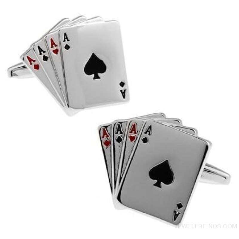 Cuff Links Gamble Casino - 14 - Custom Made | Free Shipping