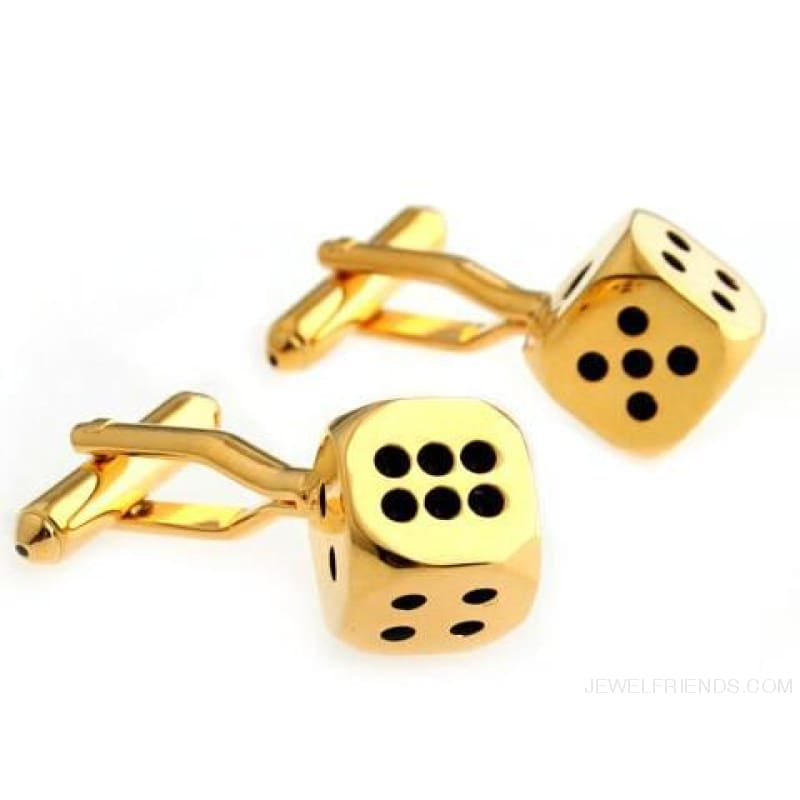 Cuff Links Gamble Casino - 3 - Custom Made | Free Shipping