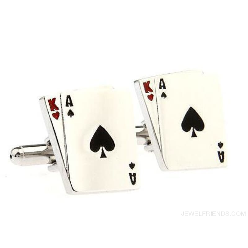 Cuff Links Gamble Casino - 6 - Custom Made | Free Shipping
