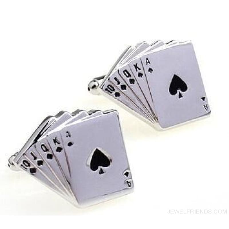 Cuff Links Gamble Casino - 7 - Custom Made | Free Shipping