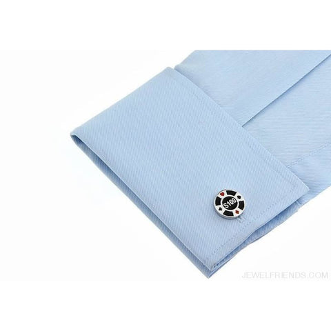 Image of Cuff Links Gamble Casino - Custom Made | Free Shipping
