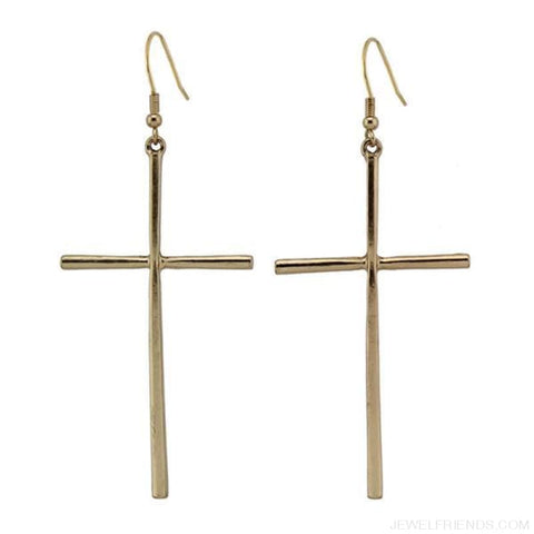 Image of Dangle Cross Earring - Custom Made | Free Shipping