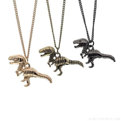 Image of Dinosaur Rex Pendant Necklace - Custom Made | Free Shipping