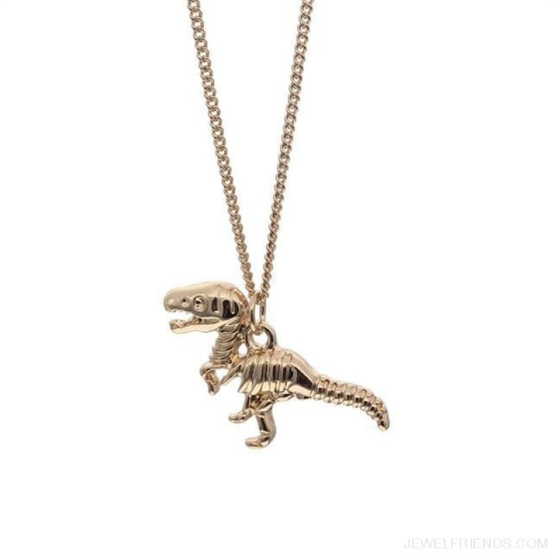 Dinosaur Rex Pendant Necklace - Custom Made | Free Shipping