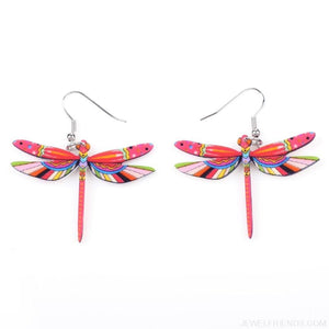 Dragonfly Acrylic Earrings