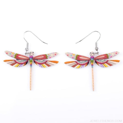 Image of Dragonfly Acrylic Earrings - Custom Made | Free Shipping