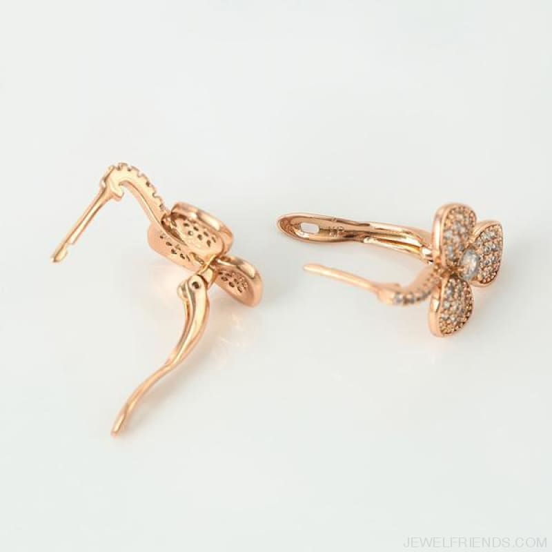 European Style Gold Color Plated Earrings - Custom Made | Free Shipping