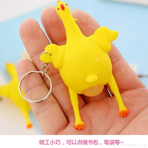 Image of Funny Spoof Tricky Stress Ball Keychains - Custom Made | Free Shipping