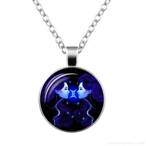 Image of Galaxy Constellation Design Horoscope Necklaces - Gemini - Custom Made | Free Shipping