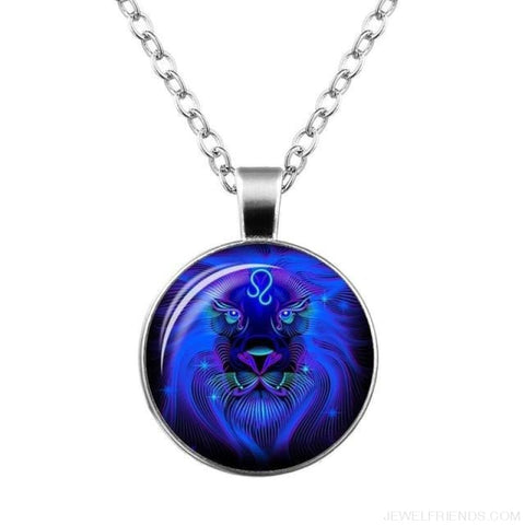 Galaxy Constellation Design Horoscope Necklaces - Leo - Custom Made | Free Shipping