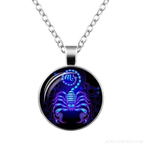 Image of Galaxy Constellation Design Horoscope Necklaces - Scorpio - Custom Made | Free Shipping