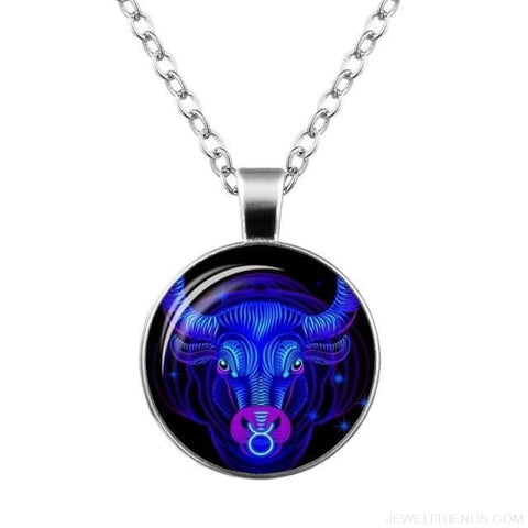 Galaxy Constellation Design Horoscope Necklaces - Taurus - Custom Made | Free Shipping