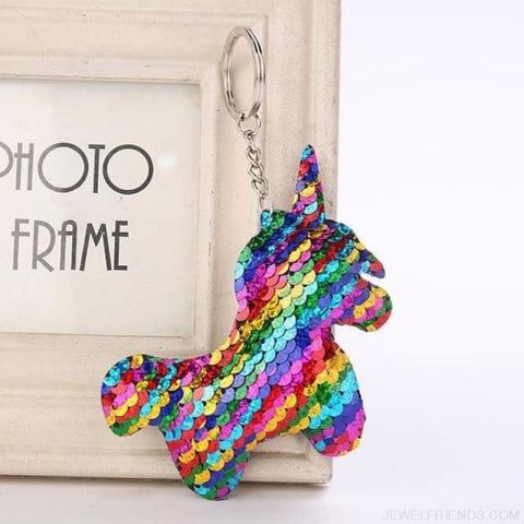 Image of Glitter Bear Pompom Sequins Keyring - Yl004 - Custom Made | Free Shipping