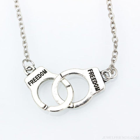 Handcuff Pendant Necklace & Bracelet - Custom Made | Free Shipping